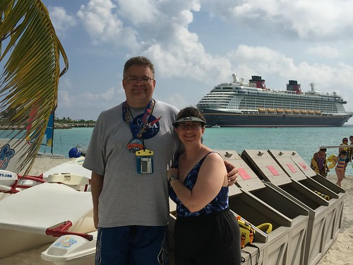 "Tracey and Scott on Castaway Cay • <a style=""font-size:0.8em;"" href=""http://www.flickr.com/photos/28558260@N04/23133949886/"" target=""_blank"">View on Flickr</a>"