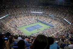 Go Fed (Kpakr) Tags: new york arthur major us open stadium meadows tennis roger federer ashe flushing 2013