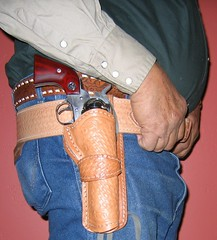 COWBOY GUNRIG (AZ CHAPS) Tags: cowboy gun 45 shooting vaquero ruger singleaction gunrig