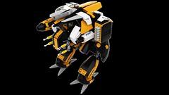 Assault Battlemech - Havoc (wray20641) Tags: lego render mechwarrior mech battletech moc battlemech