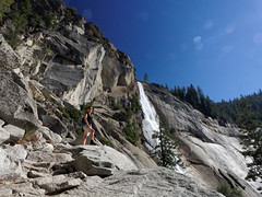 Wodospad Nevada | Nevada Fall