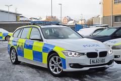 NL63 XEE (Cleveland & Durham RPU) Tags: winter snow car estate durham traffic police bmw roads emergency touring unit 999 countydurham rpu constabulary policing 330d xdrive anpr nl63xee