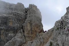 Na przełęczy Forc. Camoscio