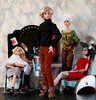 George Was The Hottest Hairdresser in Beverly Hills (moogirl2) Tags: fashionroyalty colorinfusion poppyparker jasonwu hairdresser shampoo fashiondolls gloriafurniture miniatures dioramas integrity