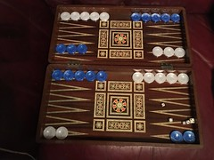 My Backgammon Games. (allanpar) Tags: games boardgames draughts backgammongame backgammon