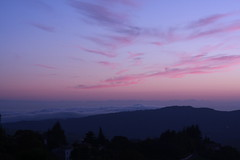 Tra le nuvole e le stelle (matteogrobberio) Tags: nuvole stelle pink blue sky red purple night sunset mountain girl boy young panorama pano clouds pinkclouds sun city verona aaah love