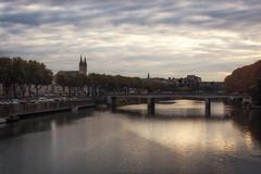 _DSC4108 (ALX-PHOTOGRAPHIE) Tags: automne autumn evening soir soire angers france skyline pont bridge panorama
