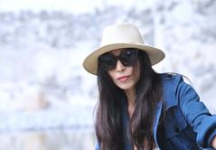 Woman with sunglasses (daniel0027) Tags: portrait sunglasses woman sepiatone