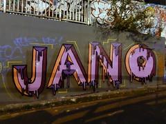 Jano graffiti, Leake Street (duncan) Tags: graffiti leakestreet jano