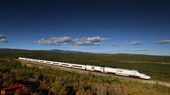 La Majada (Luis Corts Zacaras) Tags: la majada robledo zamora espaa renfe adif tren ferrocarril via embalse montaa campo