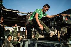 * (Sakulchai Sikitikul) Tags: street snap streetphotography songkhla sony voigtlander 28mm thailand hatyai soldier military