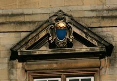 Bibliotheca Pepysiana (beery) Tags: pepys samuelpepys library biobliothecapepysiana cambridge cambridgeshire universityofcambridge magdalenecollege magdalene arms heraldry wray