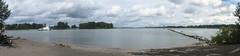 confluence (rovingmagpie) Tags: oregon portland kelleypointpark willametteriver columbiariver confluence breakfast water touregon summer2016