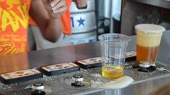 Magic Beer Taps (Joe Shlabotnik) Tags: 2016 beer newyorkstatefair september2016 statefair syracuse