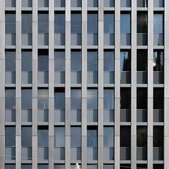 facade (morbs06) Tags: abstract architecture building city cladding detail facade glazing lines office pattern square stripes urban windows dsseldorf
