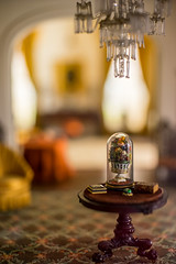 Foyer (Fret Spider) Tags: artinstituteofchicago thorneminiature macro shadows windows sun model art gallery museum home room chicago sonya7ii mirrorless vintage classic canonfd50mmf12l bokehdelicious bokeh outoffocus oof dof depthoffield simulation window mansion dwell lair chair blur