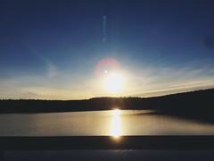Tramonti infiniti su Inari  (starsinheavenaline) Tags: weddingtravel viaggiodinozze finlandia finland luce light blu sun sole specchio mirror lake sunset tramonto lagodinari lago inari