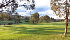 Mown lawns in the morning (spelio) Tags: golf walk good pano ngunnawal gungahlin act canberra 1000views261116 explore stroll morning light back course wander 193 2500views021216