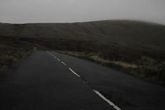 Mountain Roads (Aaron Pennett) Tags: mourne mountains blacktop white paint roadmarkings moody greydays autumn atmosphere still silent quiet landscape