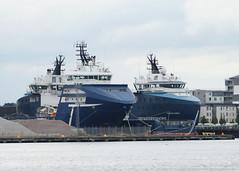 'Troms Capella' and 'Troms Mira' - Leith (Neil Pulling) Tags: ship scotland leith edinburgh forth uk shipping tromscapella tromsmira