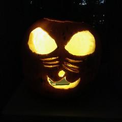 Henry's Pumpkin (Brian Sawyer) Tags: pumpkin jackolantern henry