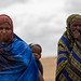 Fardowsa Barre, 22 a mother of two affected by the drought, directing to the EOS post in Rujis Health Post, 42 km north Jijiga in Awbare woredas and attends biannual screening and vitamin –A supplementation service