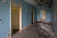 Isolation 920B (Amy Heiden) Tags: abandoned asylum hospital south urbanexploration statehospital psychiatrichospital isolation