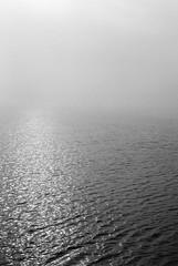 (snej_life) Tags: greifswald wieck mecklenburg vorpommern blackwhite analog nikonfe kodaktmax400 deutschland germany north greifwalder bodden ozean sea water sailing fog nebel