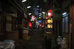 alley of temptation #1 (kasa51) Tags: alley night sign light tokyo japan nikkorsauto50mmf14 三軒茶屋