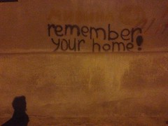 Remember your home (GrusiaKot) Tags: ucraina ukraine україна украина travelling autumn writing wall scritta muro casa home kharkiv kharkov remember night shadow
