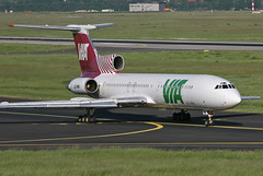 LZ-MIK (@Eurospot) Tags: lzmik tupolev tu154 airvia dusseldorf