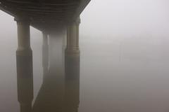 DSC01544 Kew Railway Bridge (tobyjug5) Tags: mist autumn thames river london sony bullshead kew chiswick strandonthegreen wroughtiron