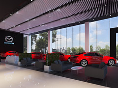9 (Stephen Trinh) Tags: noi that showroom kia mazda interior design