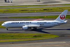JA8987 Boeing 767-346 JAL  HND (Jetstar31) Tags: ja8987 boeing 767346 jal hnd
