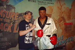 6-19-12 (223) (Comic Con Culture) Tags: madametussauds muhammadali cassiusclay boxer boxing usa goldmedal gold medalist