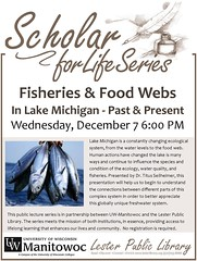 Scholar for Life Series (Lester Public Library) Tags: lesterpubliclibrary lpl librariesandlibrarians library libraries libslibs lesterpubliclibrarytworiverswisconsin 365libs scholarforlife uwextension uwmanitowoc libraryprogram publiclibrary publiclibraries wisconsinlibraries readdiscoverconnectenrich lakemichigan fisheries foodwebs cleanwater freshwater water