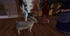 Absolutely Love it <3 (Allie Carpathia) Tags: home victorian autumn family love beauty twomoms mothers daughter pet ram secondlife