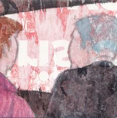 # 328 (23-11-2016) (h e r m a n) Tags: manandwoman manandwife manenvrouw herman illustratie tekening bock oosterhout zwembad 10x10cm 3651tekenevent tegeltje drawing illustration karton carton cardboard beeldbad