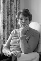 ... my Mum ... (jane64pics) Tags: 52weeksof2016 week47 gratitude thanksgiving mum mother mymum janefriel janefriel2016 greystonescameraclub gcc portrait naturallight windowlight lady elegant fillinflash
