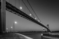 Un soir à Tancarville (amateur72) Tags: fujifilm paysdecaux pont tancarville xf1024mm bridge coucherdesoleil landscape longexposure xt1 normandie seinemaritime ruby5