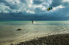 Lone Kiteboarder (JesseMichaelMarshall) Tags: kiteboarder kiteboarding kite keys ocean florida warm wind tropical salt life island a6000 18105