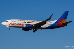 Jet2 --- Boeing 737-300 --- G-GDFO (Drinu C) Tags: adrianciliaphotography sony dsc hx100v mla lmml plane aircraft aviation 737 jet2 boeing 737300 ggdfo