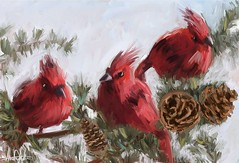 #artwall #red #Cardinal #bird #pine #tree Available in my store (link in bio) #winter #xmas #cute #birthday #gift #painting #drawing #Sketching #art #illustration #draw #artist #sketch #instaart #travel #traveling #vacation #instago #holiday #commissionar (ahmad kadi) Tags: instagram artwall red cardinal bird pine tree available store link bio winter xmas cute birthday gift painting drawing sketching art illustration draw artist sketch instaart travel traveling vacation instago holiday commissionart commission kadisart