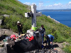 Feuerstelle am Cabo de Finisterre, Galicien, Spani(1) (Anne O.) Tags: 2016 fisterra galicien spanien panoramio6954847132294449