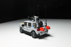 M-200 MCV Rear ([C]oolcustomguy) Tags: lego brickarms brick arms military truck mcv maneuver combat vehicle