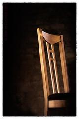 The Mackintosh Chair (sbox) Tags: chair light mackintosh textures sepia frame