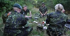 BBQ BREAK (postmand_b) Tags: s grill pause homeguard hjemmeværnet hjv