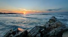 A Greek Sunset (Alex Wrigley) Tags: ocean sunset sea beach photography greece coastline albania corfu landscapephotography coastalphotography alexwrigley alexwrigleyphotography