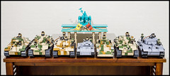 COBI Small Army WWII Collection – August 2015 (Adam Purves (S3ISOR)) Tags: usa brick set tank lego military tiger wwii collection german american armor soviet ww2 british block russian panther armour cobi panzer t34 wermacht stug su85 smallarmy su76