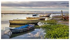 Evening at Brancaster Staithe (Digital Wanderings) Tags: boats coast brancaster northnorfolk brancasterstaithe norfolkcoast